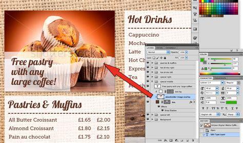 Coffee Shop Menu Board Psd Template Eclipse Digital Media Digital Menu Board Templates