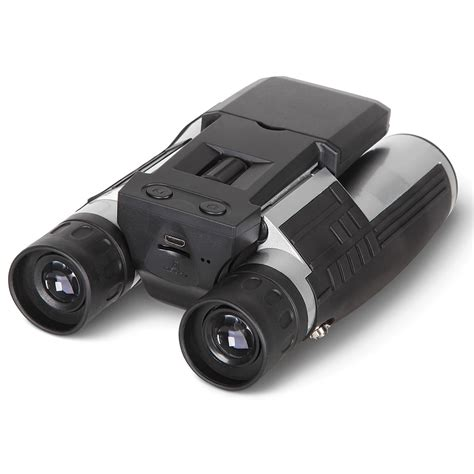 the best compact zoom binocular the best digital binoculars hammacher schlemmer