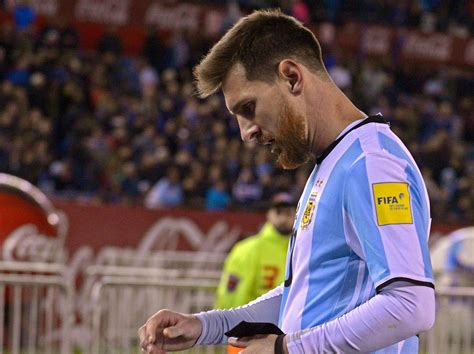 lionel messi and argentina staring the barrel of not