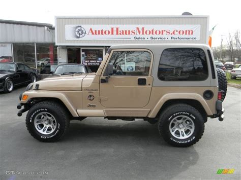jeep sand color 1999 desert sand pearlcoat jeep wrangler sahara 4x4