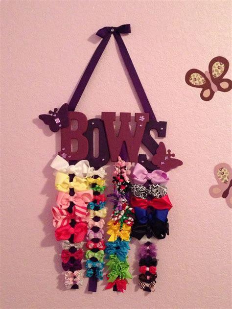bow holders on pinterest hair bow holders boutique hair bows hair bow holder diy hairbows pinterest