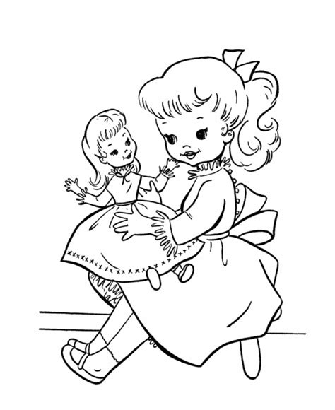 Doll Coloring Pages To Print Baby Doll Coloring Pages Coloring Home by Doll Coloring Pages To Print
