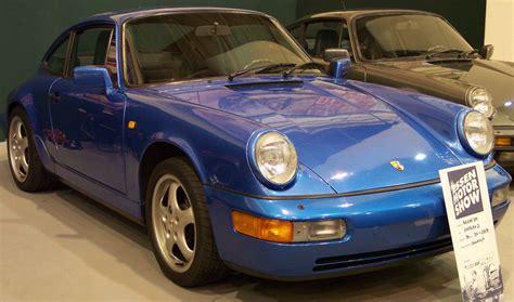File Porsche 911 Carrera 2 1990 Blue Vr Ems Jpg Wikipedia