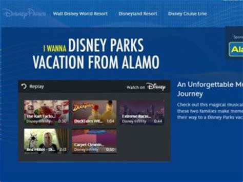 Disney Vacation Sweepstakes - alamo disney parks vacation sweepstakes