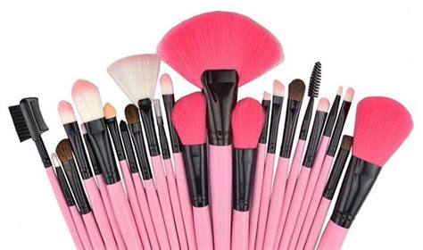 Bedak Blush Makeup Brush Set macam macam kuas make up beserta fungsinya