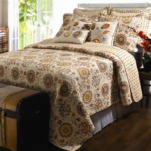 Quilt Sets by Andorra Medallion Cotton Quilt Set Bedding