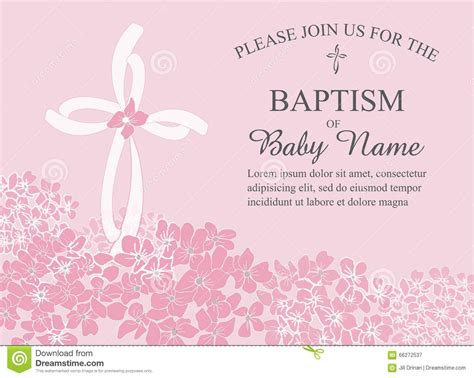 free template baptism invitation baptismal invitation template baptism invitation