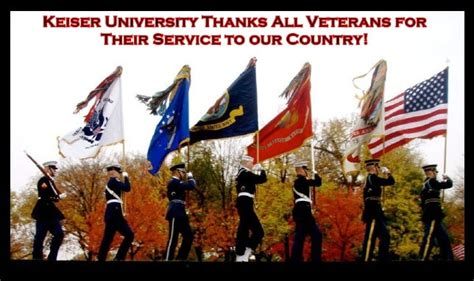 Mba Courses In Keiser by Universities In Florida Celebrating Veterans Day