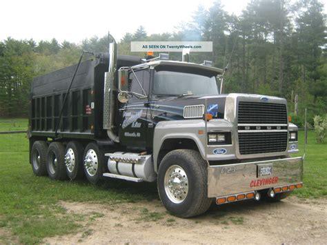 Ford Ltl 9000 Dump Truck | 1986 ford ltl 9000