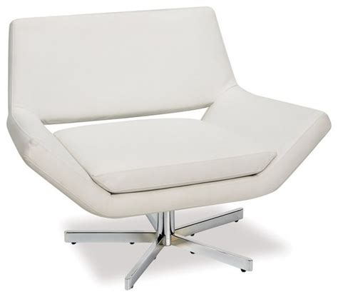 swivel living room chairs contemporary ave six yield 41 inch wide swivel chair in white