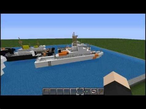 how to make a navy boat in minecraft coast guard pack zeppelin mod supported minecraft project