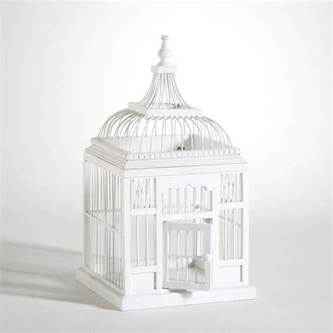 Lyon Deco : Location Urne Cage Oiseau Blanche pour tous vos vnements
