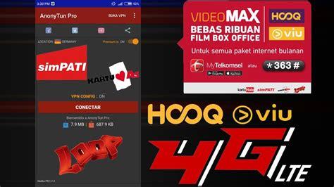 trik kuota videomax trik cara merubah kuota videomax hooq viu menjadi