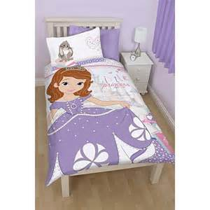 Toddler Bedding Sets Asda Princess Sofia Bedroom Range Toddler Bedding Asda Direct