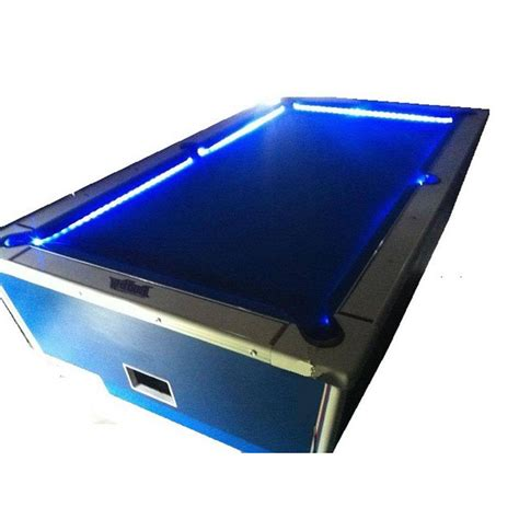 color changing light table bar billiard pool table bumper led rgb color changing