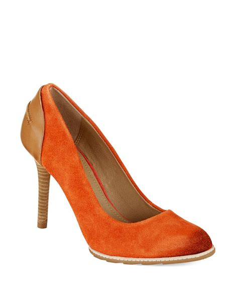 kenneth cole high heels kenneth cole reaction humaway heels in orange coral
