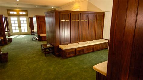 rooms to go augusta masters locker room is empty during masters week golf