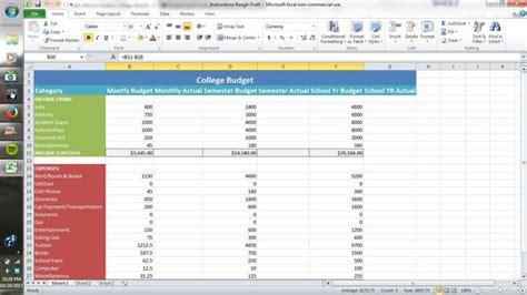 Hoe Maak Je Een Begroting hoe maak je een college stijl begroting met behulp