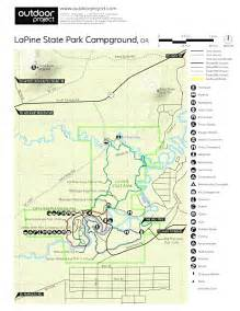 map of la pine oregon lapine state park cground cing in oregon