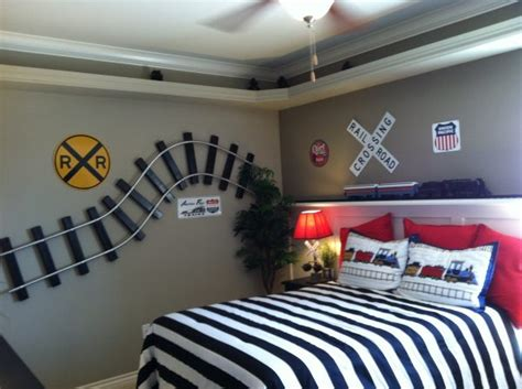 train themed bedroom for toddler kids room ideas trains design dazzle