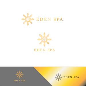 designcrowd pty elegant modern logo design for eden spa pty ltd by