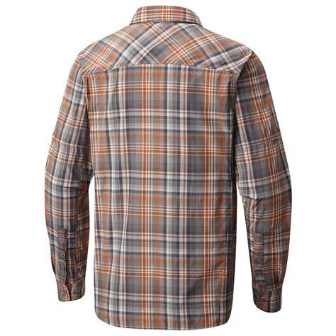 Crnvl Gb Plaid Sleeve Shirt columbia silver ridge plaid sleeve shirt shirt