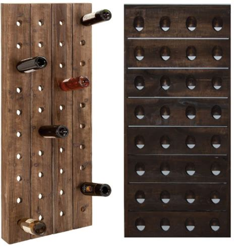 Wall Wine Rack by Wooden Wine Rack Wall Mounted Wooden Wine Racks Pictured