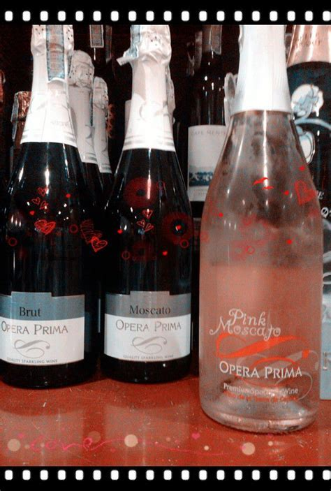 Opera Prima Pink Moscato! BEST Choice ever for a wedding