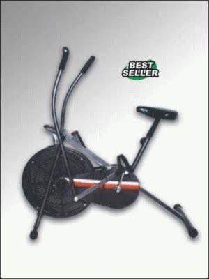 Orbitrek Anti Gores sepeda statis wind bike anti gores bandung fitness