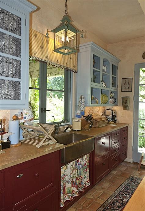 romantic kitchen penelope bianchi s romantic kitchen in california hooked