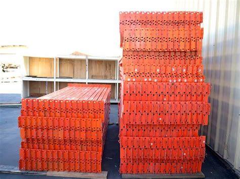Pallet Rack Uprights by Used Pallet Rack Uprights Pallet Rack Pallet Racks