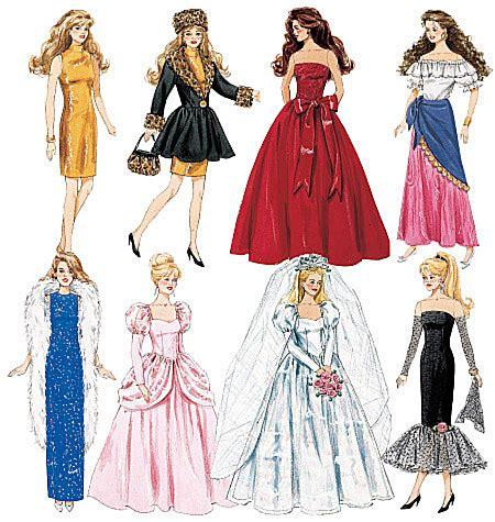fashion doll dress patterns fashion doll clothes fashion doll clothes crafts dolls