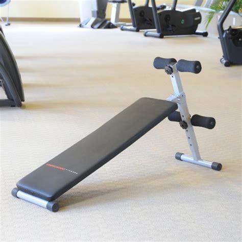 crescendo fitness flat bench crescendo fitness slant sit up bench sporting goods