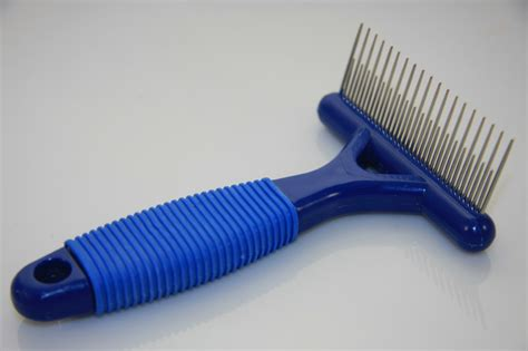Shedding Rake by Cat Soft Grip Deluxe Grooming Shedding Comb Rake Ebay