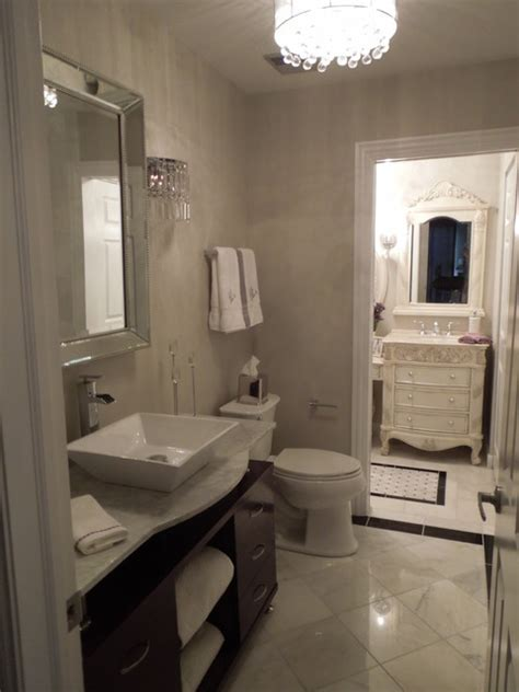 Modern Traditional Bathroom Traditional Contemporary Bathroom Dressing Room Contemporary Bathroom Chicago By