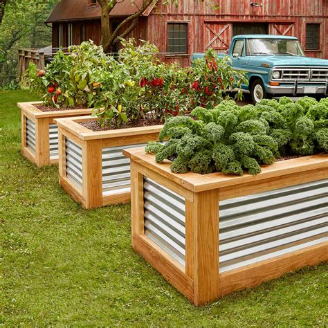 build raised garden beds family handyman