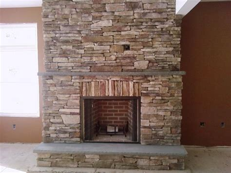 bluestone fireplace fireplaces pits kresge masonry excavating inc