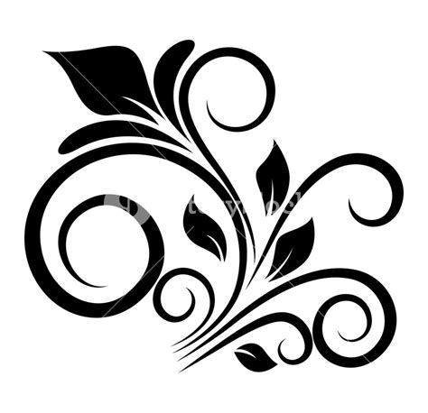 floral design elements vector retro floral design elements vector royalty free stock
