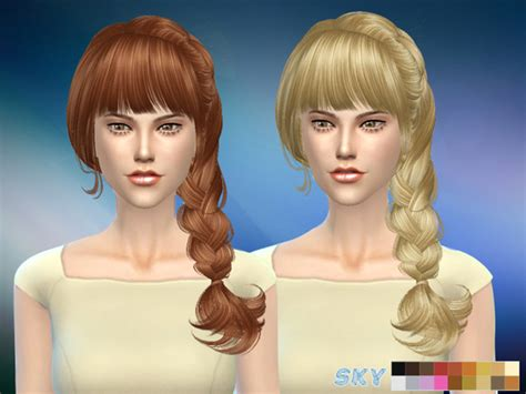 tsr braids sims 4 hair 057 aliza by skysims at tsr 187 sims 4 updates