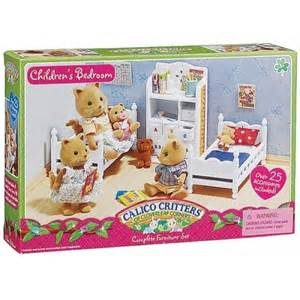 calico critters bedroom set calico critters children s bedroom set educational toys