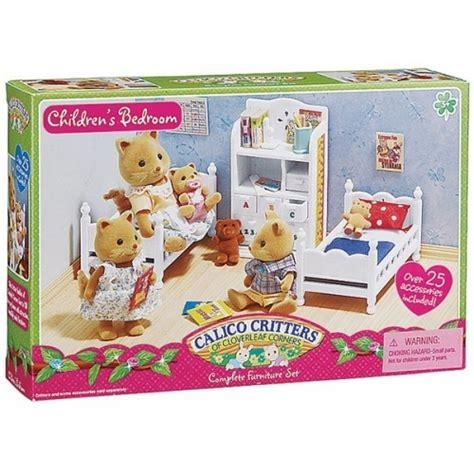 calico critters children s bedroom set educational toys