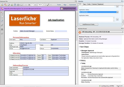 laserfiche workflow automate hiring with laserfiche basic configuration