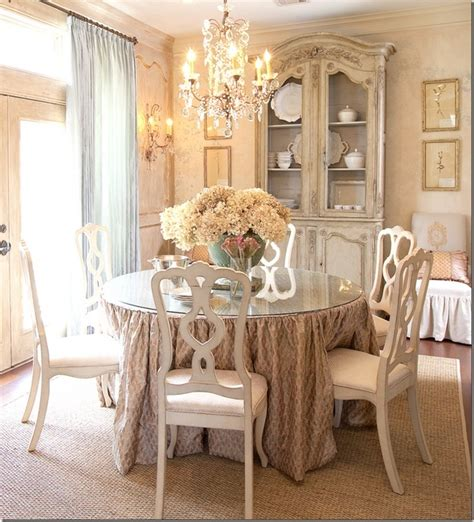 shabby chic dining room decorating ideas