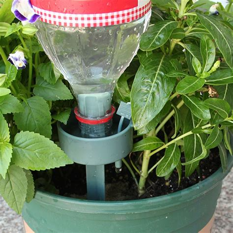 set flower pot potted automatic watering device plant