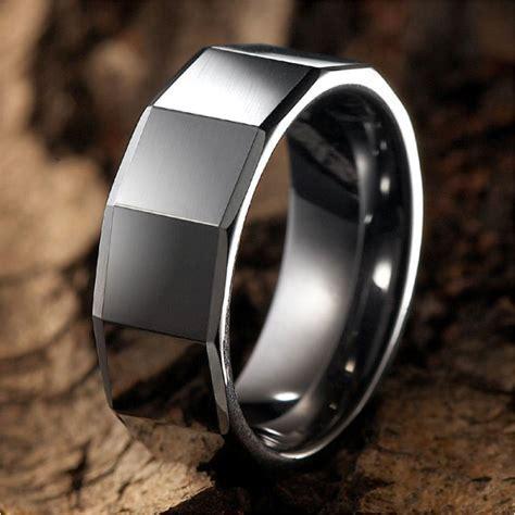 Men?s Tungsten Wedding Brands   Unique Engagement Ring