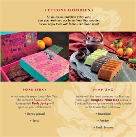 tung lok arena new year menu new year pen cai goodies promotions singapore