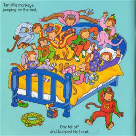 10 monkeys jumping on the bed ten little monkeys jumping on the bed 豆瓣