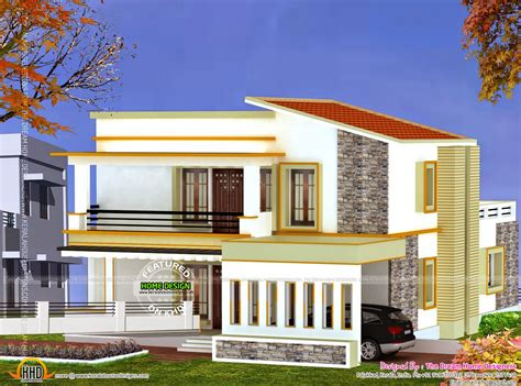 house plans for a view 3d view and floor plan kerala home design and floor plans