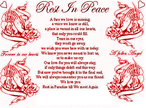 Happy Birthday And Rest In Peace Quotes Rest In Peace Graphics And Comments