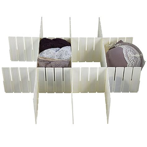 any way drawer dividers in drawer organisers at lakeland